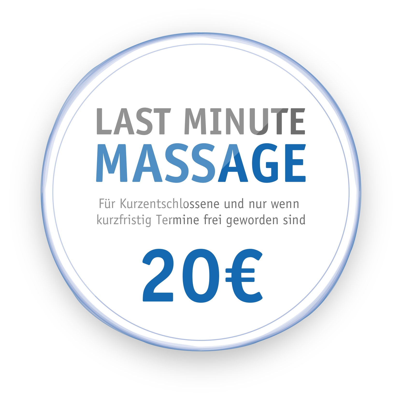 Last Minute Massage - 15€